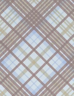 Tartan wallpaper from Cole and Son