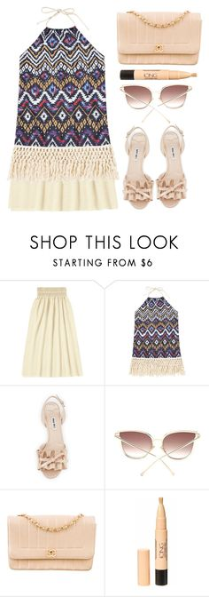 """""""Vacation"""" by simona-altobelli ❤ liked on Polyvore featuring Miu Miu, Chanel, StreetStyle, MyStyle, vacation, freetime and MyPowerLook"""