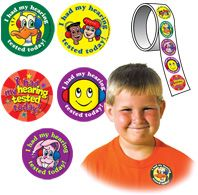 #MMpotd 7. Audiology - Super Duper Hearing Tested Assortment Stickers 100 pack for $6.95. Everybody loves stickers...