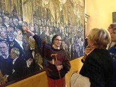 Dolores racconta… la grande tela del Bicentenario del Teatro alla Scala