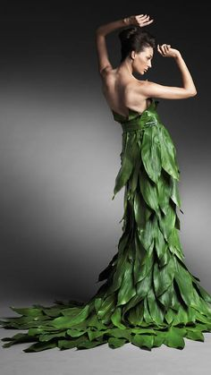 Now if they only made this out of grape leaves... Fashion Editorial Photography by Oleg Tityaev
