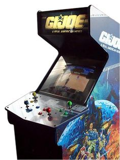"Konami ""G. Vintage Video Games, Vintage Games, Gi Joe, Stand And Deliver, Girl Gamer, Arcade Machine, 90s Kids, Electronics Projects, Gaming Computer"