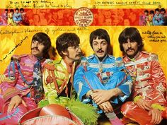 posters musica #beatles #psicodelia #postersVintage