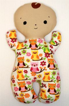 Little DeMoura Designs  Snuggle Baby Doll.... just ordered one for Maddie :) On sale until tonight!