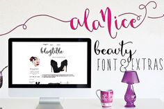 another nice fancy font