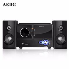 AEDG Huabao A28 Speaker Multimedia Active Speakers Desktop PC Sound 2.1 Subwoofer //Price: $119.98//     #shop Desktop Speakers, Loudspeaker, Multimedia, Gadget, Bluetooth, Cards, Shopping, Blue Tooth, Music Speakers