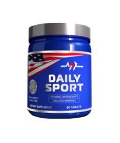 MEX NUTRITION - Daily Sport - 60tab  Daily Sport to mieszanka witamin i minerałów odpowiedzialnych za wspomaganie zdolności regeneracyjnych organizmu. Poprzez doskonały skład odpowiedzialne są za przywracanie prawidłowego poziomu energii, wyrównywanie poziomu wody, jak i również pomagają poradzić sobie z depresją, gdyż mają bardzo pozytywny wpływ na redukcję stresu.