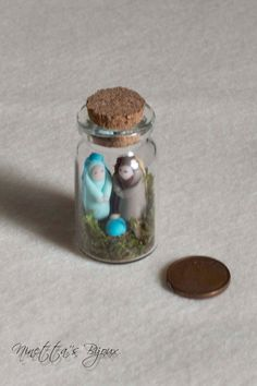Presepe in miniatura in fimo by NinettaBijoux on Etsy