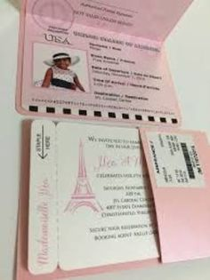 Diseos De Invitaciones La Torre Eiffel Muy Glamurosos Paris Quinceanera ThemeQuinceanera InvitationsParis