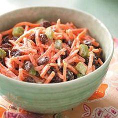 Easy, delicious and healthy Carrot Salad recipe from SparkRecipes. See our top-rated recipes for Carrot Salad.