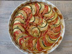 roasted summer vegetable tian | pamelasalzman.com