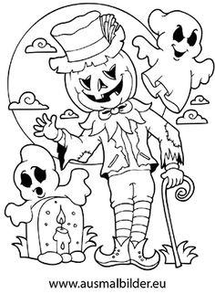 Printable Halloween Spider Coloring Pages | Halloween color pages ...