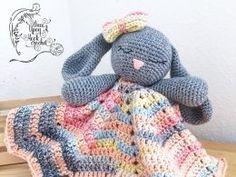 Bunny Lovey Toy Free Crochet Pattern