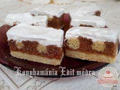 Jogász szelet Cake Bars, Tiramisu, Ethnic Recipes, Food, Essen, Meals, Tiramisu Cake, Yemek, Eten
