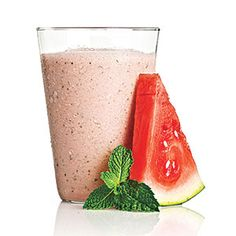 Smoothies Under 250 Calories | Watermelon with a Hint of Mint | CookingLight.com