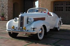 1937 La Salle Speedster Owned by Clark Gable