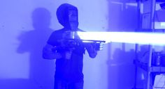'Mad Scientist' Is Back With A 200-Watt Laser Bazooka Built Out Of Scrap Metal