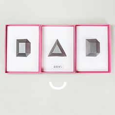Dad Rocks DIY Father's Day Gift