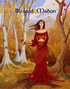 Autumn Equinox:  Blessed #Mabon.