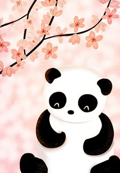 Panda Bear. I think I willl print this for Caitlyn's room
