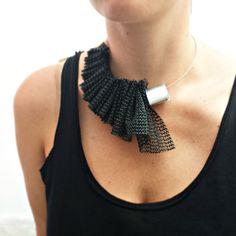 Statement necklace Popular necklace Chunky by PevalekArt on Etsy