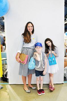 Elodie mit Kids in P