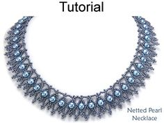 Jewelry Making Tutorials Simple Bead Patterns Beading Tutorials and Patterns Beaded Jewelry Making Tutorials, Jewelry Making Beads, I Love Jewelry, Beading Tutorials, Pearl Jewelry, Jewelry Design, Jewelry Ideas, Jewellery Making, Beading Techniques