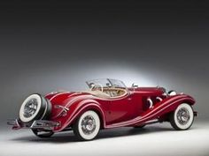 $3.8 Million Vintage 1937 Mercedes 500 K Roadster Stolen in WWII Heading Back to Rightful Owners by anne