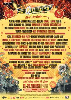 Com: Frequency Festival 2016 Lineup & Tickets Info Rock Festivals, Music Festivals, Concerts, Skunk Anansie, Manu Chao, Zeds Dead, Boxer Rebellion, Massive Attack, Festival 2016
