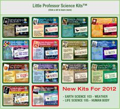 Academy of Science for Kids Little Porfessor's Science Kits....my kids love how hand on they are!