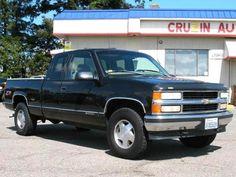 1998 Chevrolet Silverado 1500 LS Club Cab 4x4 truck — $5995