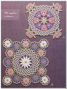 Two Doilies | Crochet and arts | Bloglovin'