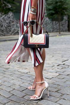 stripes + chanel
