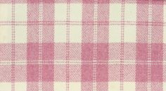Sale Drummond Tweed  $76.22 $38.12 per metre  Soft wool fabric with check design in pink and cream. Special Offer One off sale item, 3.80 metres available. Width 137cm Pattern Repeat 15cm Composition 100% Pure New Wool