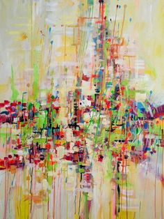 "Saatchi Art Artist Marta Zawadzka; Painting, ""Beyond (SOLD)"" #art"