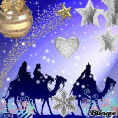 """My poem """"Unwrapping the Wise Men's Gifts"""" appears today online Happy"""