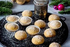 Christmas cookies - the most beautiful recipes DELICIOUS - Weihnachtskekse – die schönsten Rezepte Pudding Desserts, Chia Pudding, Pudding Recipes, Sweets Cake, Cupcake Cakes, Cupcakes, No Bake Snacks, No Bake Desserts, Chocolate Desserts
