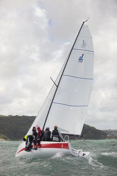 Dartmouth Sailing Week 'Jenga Torquay team - photo by… Ocean Sailing, Sailing Regatta, Sailing Ships, Sailing Yachts, Sailboat Racing, Boating Holidays, Yacht Week, Uss Constitution, Hms Victory