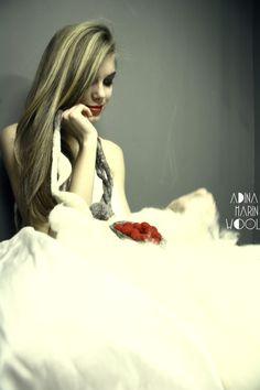 wedding felted wool jewelry by adina marin