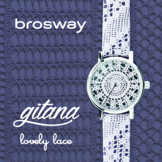 WATCHES | GITANA | WGI19 - LOVELY LACE | Brosway #Brosway #Gitana #lovelyLace #watch #orologi #pizzo