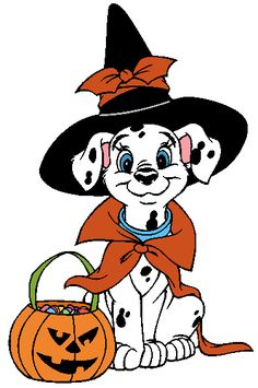 dalmatian dog witch