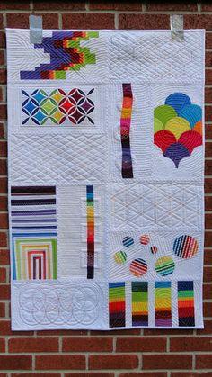 Quilt Matters: TGIFF! - Rainbow Bright