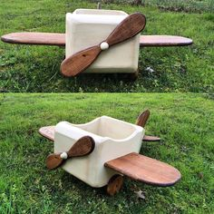 We have this amazing airplane RTS visit our Etsy store #Airplane #props #baby #carpentry #carpenter #photographer #phography #newborn #newbornphotography #wood #wings #beige #handmade by woodpropsco