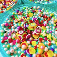 Tutti Frutti Glossy Slime – Kawaii Slime Company