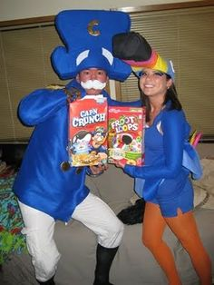 Captain Crunch and Toucan Sam