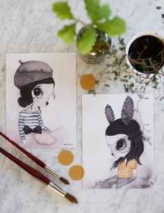 2-Pack Miss Lola Mr Vivienne by Mrs Mighetto