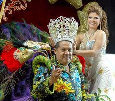 """""""Montenegro I"""", se convirtió en el Rey de la Alegría del Carnaval de Veracruz 2011"""