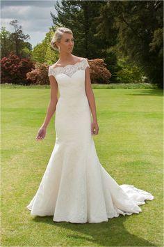 Wedding Dress of the Day: Skylar by Augusta Jones #Weddings