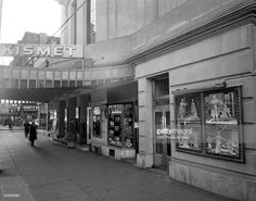 Broadway marquee Kismet Ziegfeld Theatre Theatre Posters, Broadway Theatre, Theatres, West End, Times Square, Street View, Movie, American, Classic