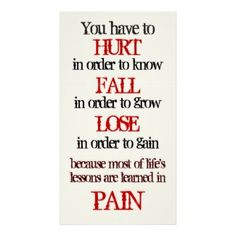 Cool Tattoo Oriental and Japanese Fine Art - Customizable Gifts and Home Decoration from Zazzle: you have to hurt in order to know fall in order to ... wise quotation motivational Poster Print